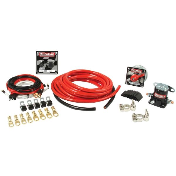 QuickCar 2 AWG Wiring Kit Without Master Disconnect Switch